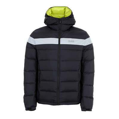 COLMAR - HOODED PUFFY DOWN - Doudoune Homme black/white
