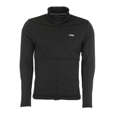 COLMAR - FULL ZIP STRETCH - Sweat Homme black