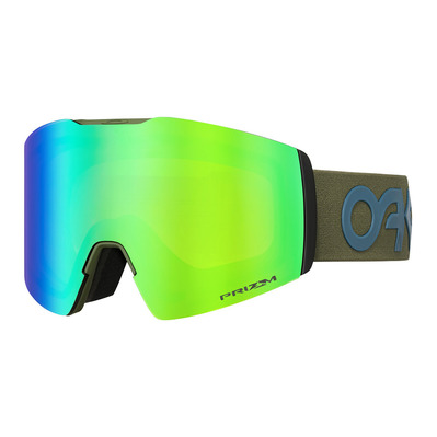 OAKLEY - FALL LINE XL - Masque ski green/prizm snow jade iridium