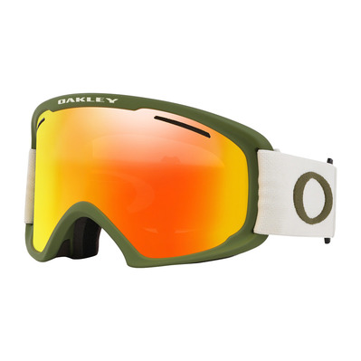 OAKLEY - O FRAME 2.0 PRO XL - Masque ski green/fire iridium + persimmon