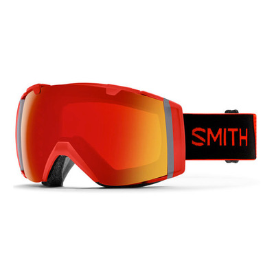 SMITH - I/O - Masque ski cps red m + cp storm rose flash