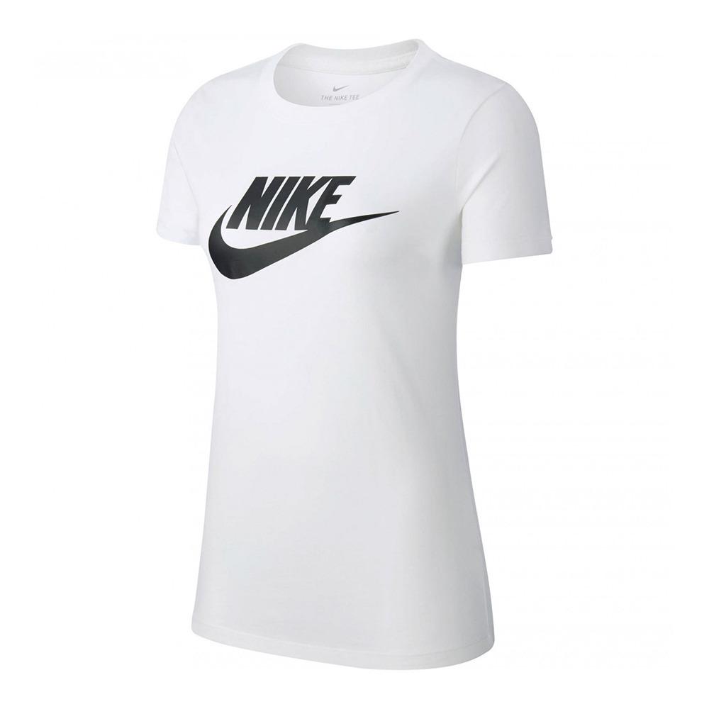 buen servicio diseño unico incomparable NIKE ADIDAS Nike NSW ESSNTL ICON - Camiseta mujer white/black - Private  Sport Shop