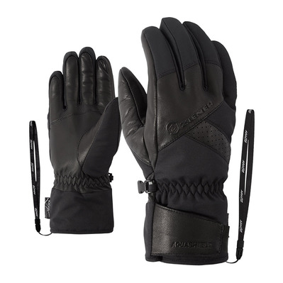 ZIENER - GETTER AS AW - Gants ski Homme black