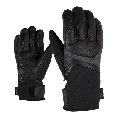 ZIENER - KRISTALL AS(R) AW lady glove Femme black