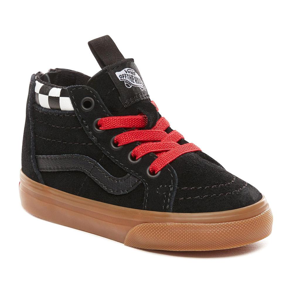 VANS Vans SK8 HI ZIP Chaussures Junior blackwhitered