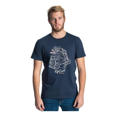 RIP CURL - PICK UP - Tee-shirt Homme dark blue