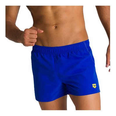 ARENA - FUNDAMENTALS X-SHORT Homme NEON BLUE-YELLOW STAR