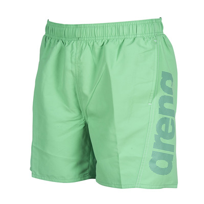 ARENA - FUNDAMENTALS ARENA LOGO BOXER Homme GOLF GREEN-ROYAL-WHITE