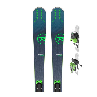 EXPERIENCE 84 AI - Esquís all mountain + Fijaciones NX 12 KONECT GW B90 black/green