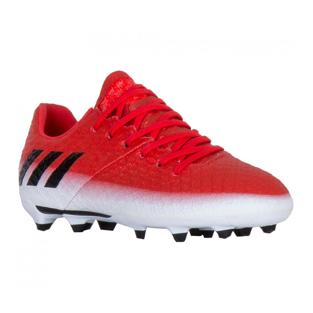 NIKE ADIDAS Adidas MESSI 16.1 FG Crampons Junior redblack