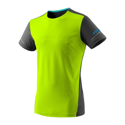 DYNAFIT - ALPINE M S/S TEE Homme fluo yellow/0910