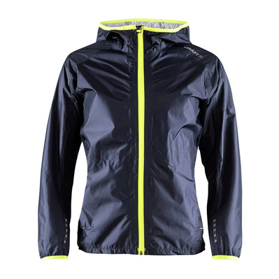 CRAFT - PLUIE 2.5L - Chaqueta mujer gravel/snap