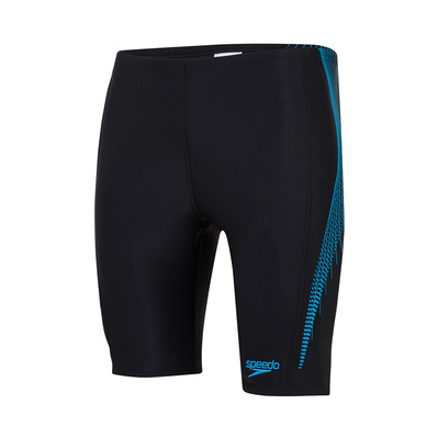 SPEEDO - TECH PANEL - Jammer - Men's - black/blue