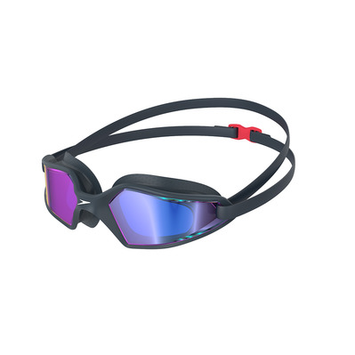 SPEEDO - HYDROPULSE MIRROR - Swimming Goggles - navy/grey