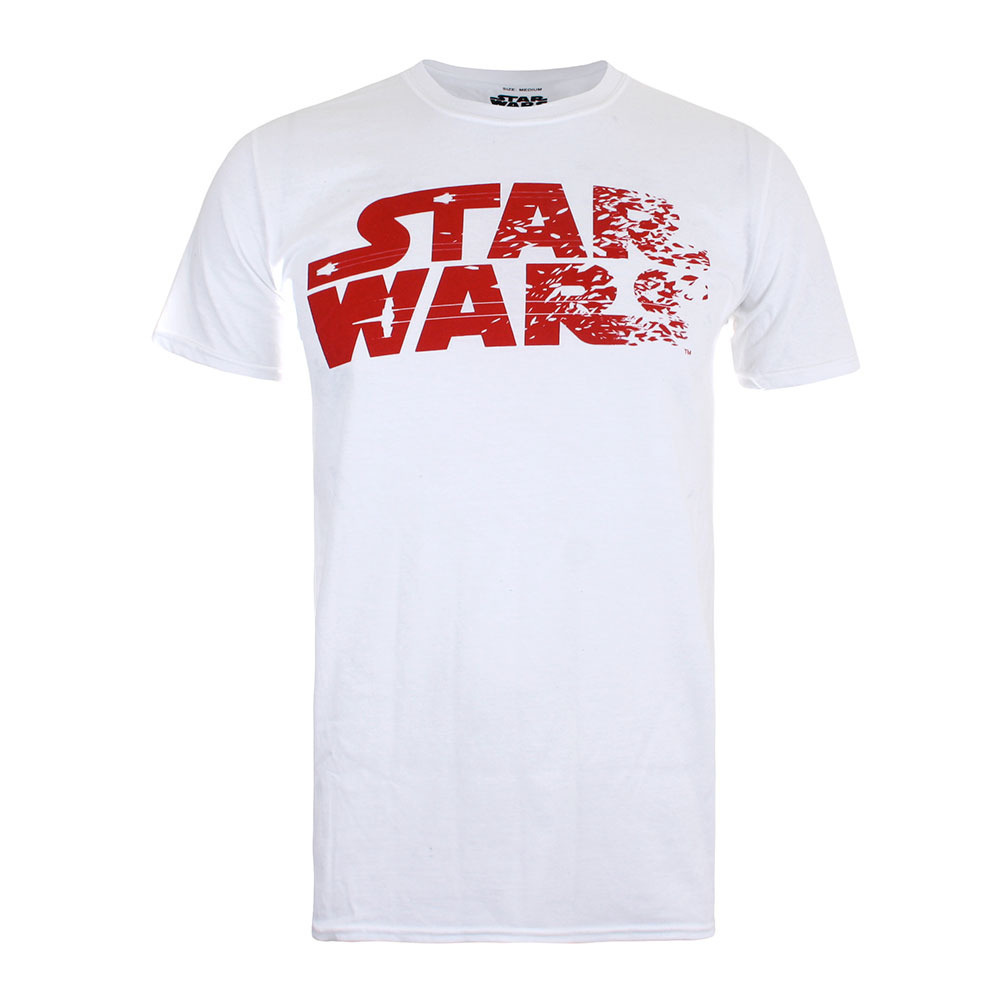 STAR WARS Rebel Text Logo T-Shirt Homme