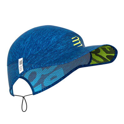 COMPRESSPORT - PRO RACING - Cappellino blue melange