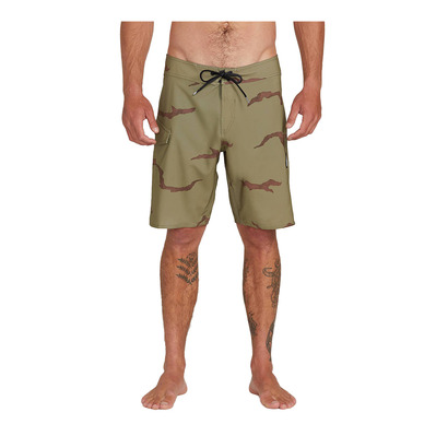 VOLCOM - LIDO SOLID MOD - Boardshort Homme light army
