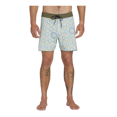 VOLCOM - SUN MEDALLION - Boardshort hombre resin blue