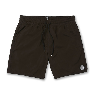 VOLCOM - LIDO SOLID TRUNK - Boardshort Homme black