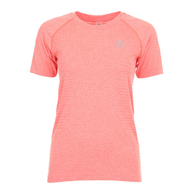 ODLO - SEAMLESS ELEMENT - Maillot Femme hot coral melange