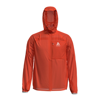 ODLO - Jacket ZEROWEIGHT DUAL DRY WATERPROOF Homme mandarin red