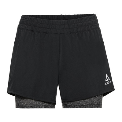 ODLO - 2-in-1 Shorts MILLENNIUM PRO mujer black