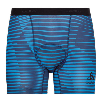 ODLO - BL Bottom Boxer SUMMER SPLASH Homme blue aster - estate blue