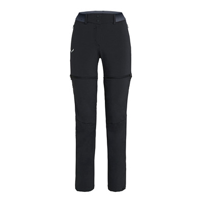SALEWA - PEDROC 2 EN 1 - Pants - Women's -black out