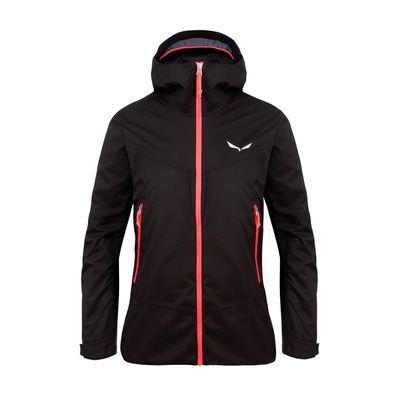 SALEWA - CLASTIC 2 POWERTEX 2L - Chaqueta mujer black out/6080