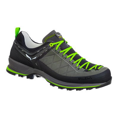 SALEWA - MTN TRAINER 2L - Hiking Shoes - Men's - smoked/fluo green
