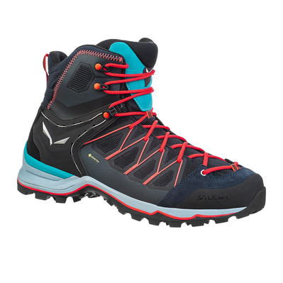 SALEWA - MTN TRAINER LITE MID GTX - Hiking Shoes - Men's - premium navy/blue fog