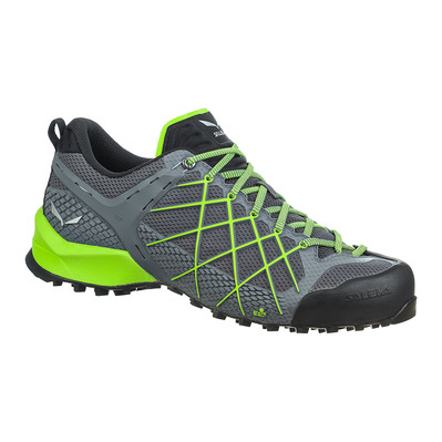SALEWA - WILDFIRE - Approach Shoes - Men's - flintstone/fluo green
