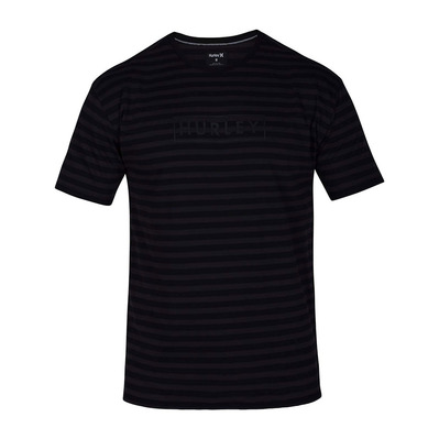 DRI-FIT ONE & ONLY STRIPE - Tee-shirt Homme black