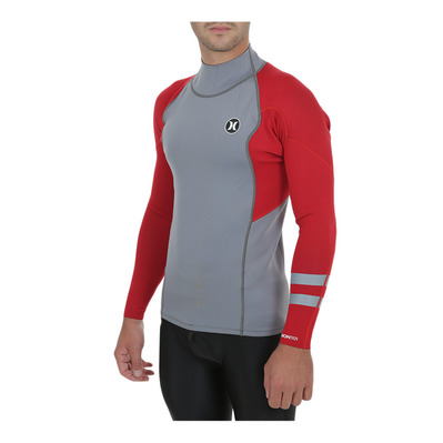 FUSION - Lycra 1/1mm Homme grey/university red