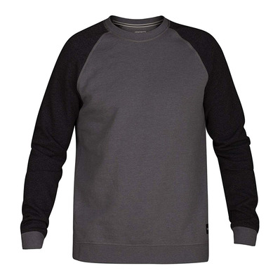 CRONE CREW - Sweat Homme black/grey