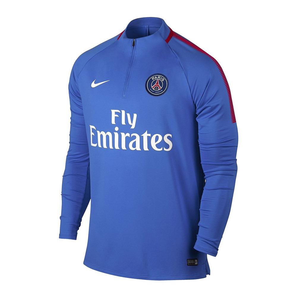 NIKE / ADIDAS Nike PSG SQUAD - Felpa Uomo blu - Private Sport Shop