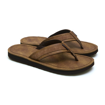 RIP CURL - WEDGE - Tongs Homme tan