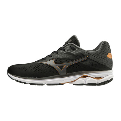 MIZUNO - WAVE RIDER 23 - Zapatillas de running hombre black/shadow