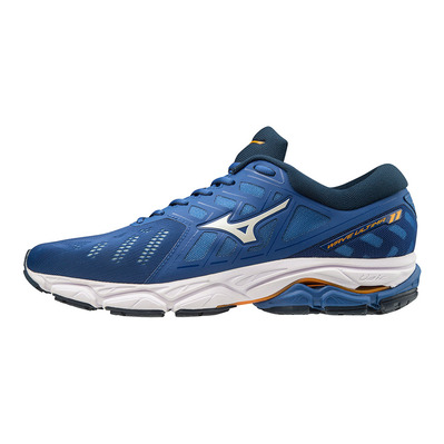MIZUNO - WAVE ULTIMA 11 - Chaussures running Homme blue/white/dress blues