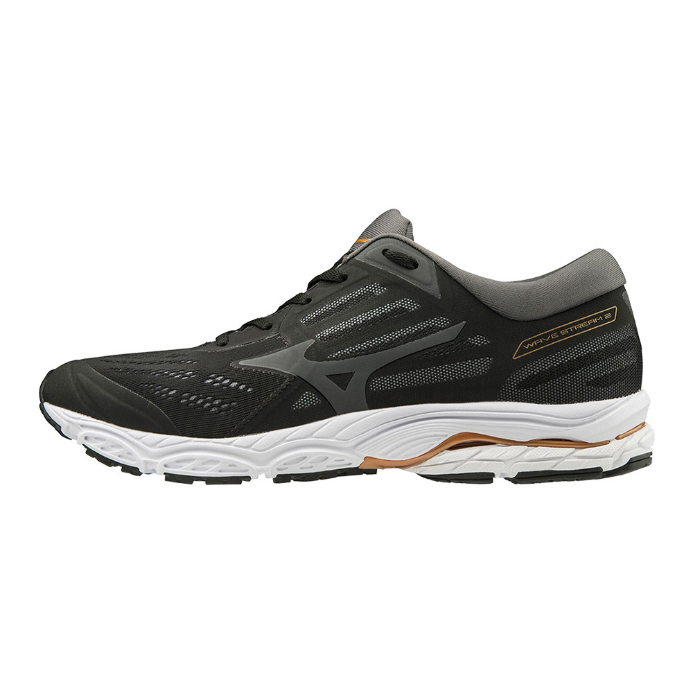 MIZUNO - Mizuno WAVE STREAM 2 - Chaussures running Homme black/monument/shadow