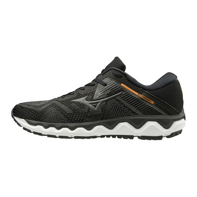 MIZUNO - WAVE HORIZON 4 - Chaussures running Homme black/shadow