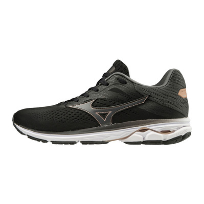 MIZUNO - WAVE RIDER 23 - Scarpe da running Donna black/shadow/champagne