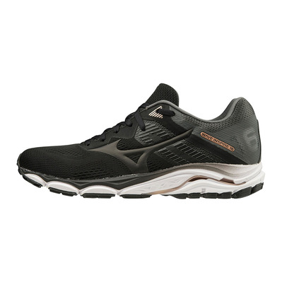 MIZUNO - WAVE INSPIRE 16 - Chaussures running Femme black/black/shadow