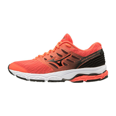 MIZUNO - WAVE PRODIGY 2 - Scarpe da running Donna hot coral/black