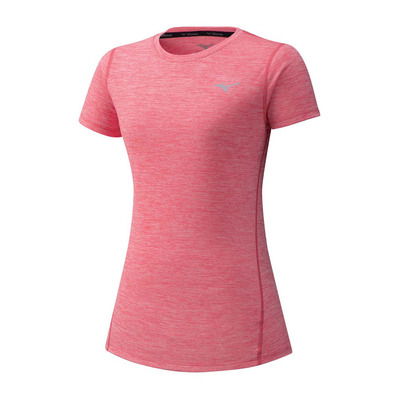 MIZUNO - IMPULSE CORE TEE - Camiseta mujer sugar coral