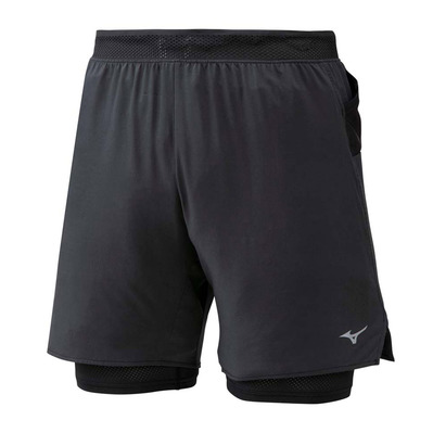 MIZUNO - ER 7.5 2in1 Short Homme Black