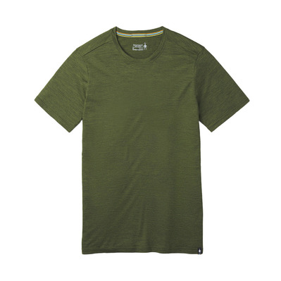 SMARTWOOL - M Merino Sprt 150 Tee MOSS GREEN HEATHER Homme MOSS GREEN HEATHER