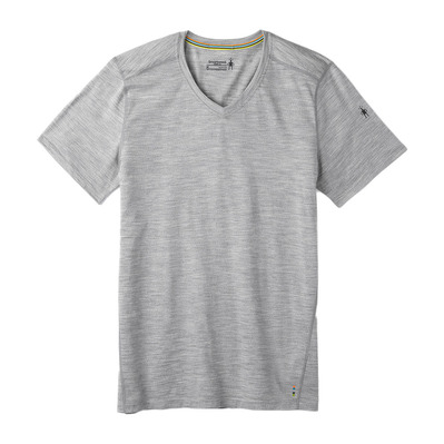 SMARTWOOL - MERINO 150 - Tee-shirt Homme ligh gray heather