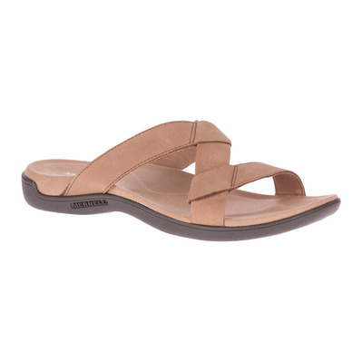 MERRELL - DISTRICT KANOYA SLIDE - Sandalias mujer carob