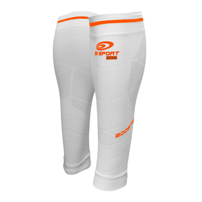 "BV SPORT - BOOSTER ELITE EVO2 ""PACHUCA"" BLANC/ORANGE S Unisexe BLANC/ORANGE"